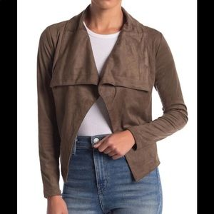 Romeo + Juliet Couture Suede Jacket
